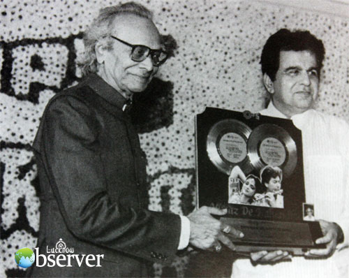 Naushad with Dilip Kumar