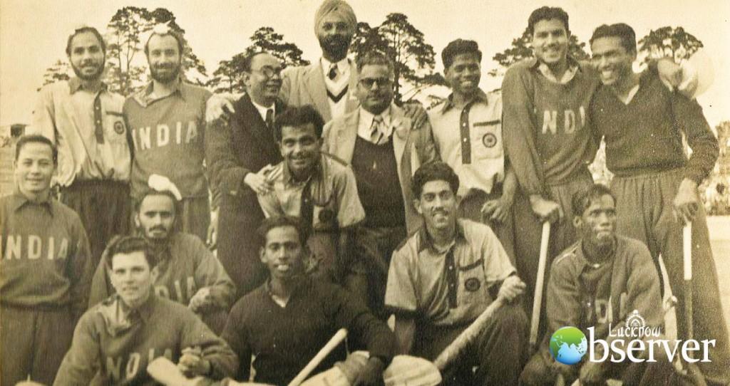 Indian Field Hockey Team at the Helsinki Olympic 1952