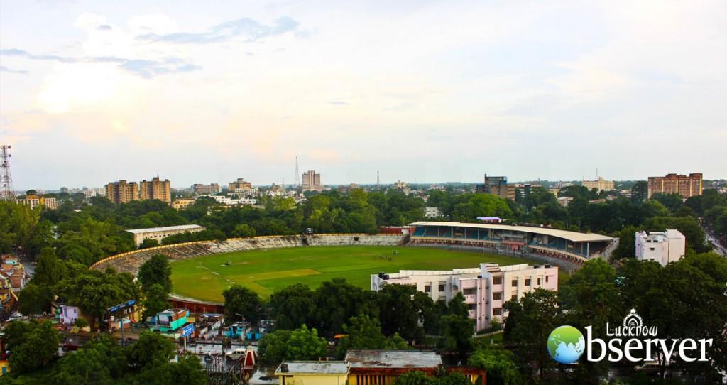 K.D. Singh Babu Stadium at Lucknow