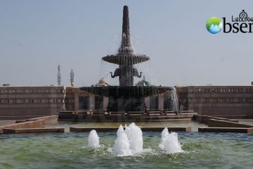 fountain lucknow