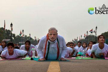 yoga narendra modi